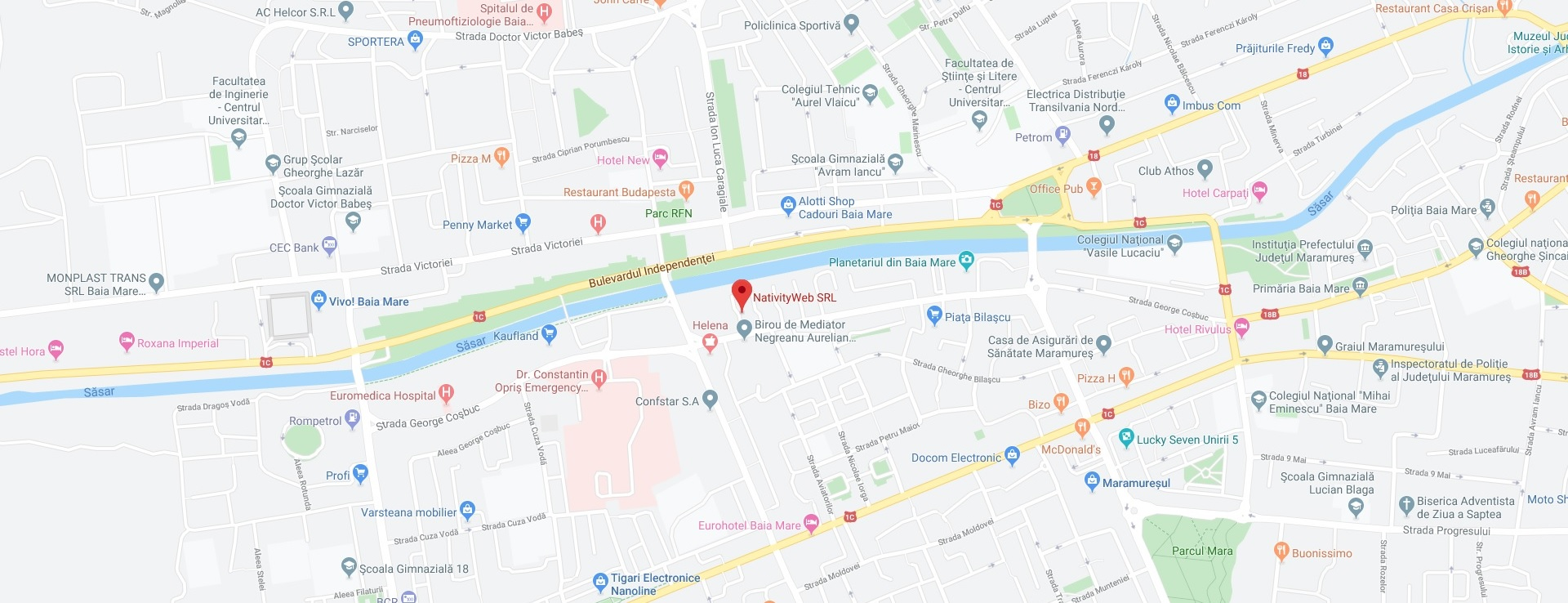 NativityWeb Google Map Location